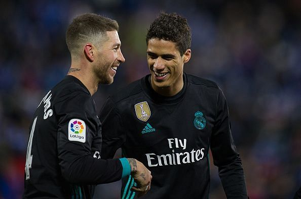 Ramos only has a few years left at the top, paving the way for Varane to lead from the back as his successor
