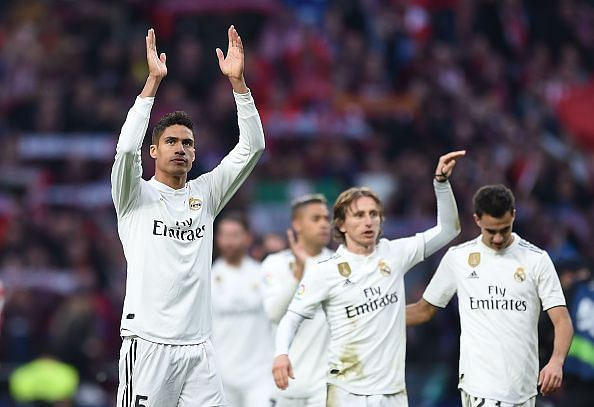 Varane is comfortable at Real, having been there for eight years - where he is highly valued