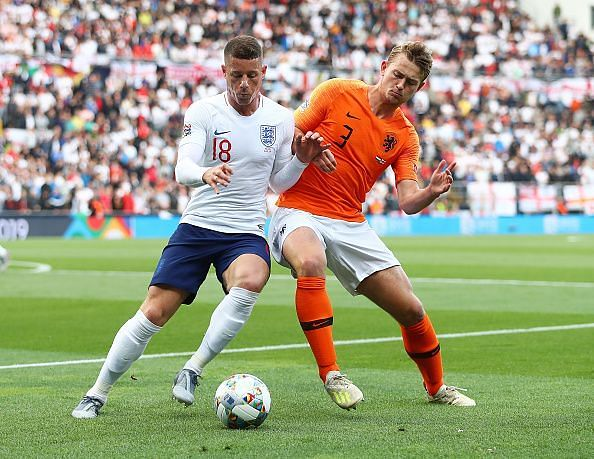 de Ligt recovered from an early mistake to impress against England during their Nations League semi-final