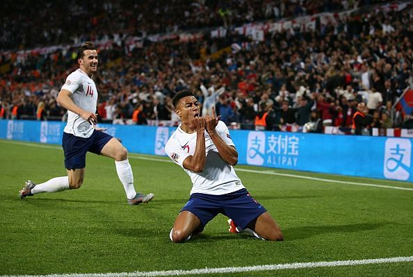 Jesse Lingard wasn't celebrating for long before finding out his goal was correctly ruled out for offside