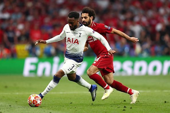 Danny Rose was one of few bright sparks for Tottenham, who failed to penetrate