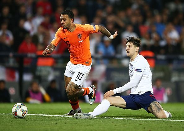 Stones dithered in possession and gifted Netherlands the lead in stoppage-time, before Barkley did the same
