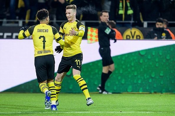 Reus has regularly praised Sancho as the pair's combination play on the pitch is clear to see