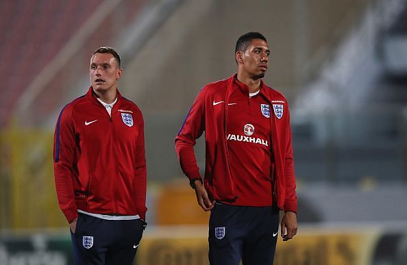 Jones-Smalling were highly-rated but regular injuries for both and their predecessors stifled development