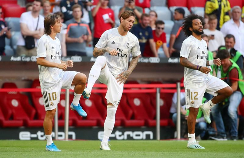 Marcelo was at fault for Kane's goal - he and Ramos continue declining at the heart of an unreliable defence