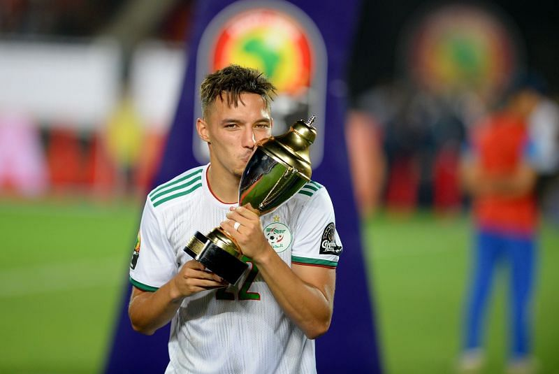 Bennacer was named the AFCON Player of the Tournament as Algeria won for first time since 1990
