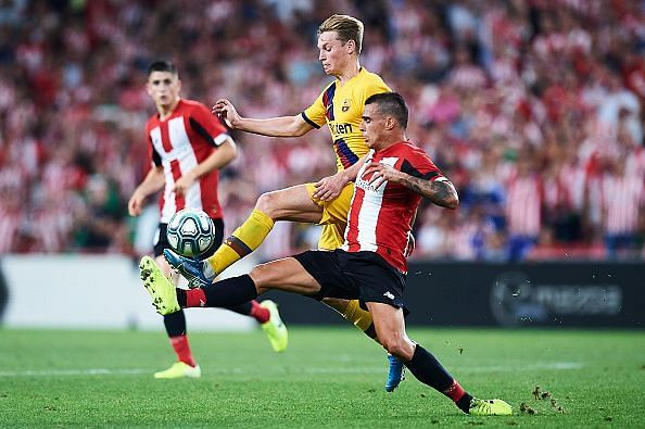 de Jong was quietly encouraging despite a slender defeat during his La Liga debut