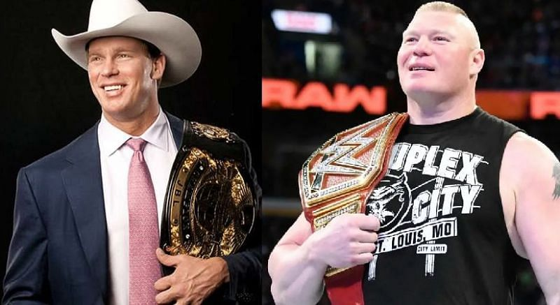 WWE history: Brock Lesnar hangs out with JBL in rare photo