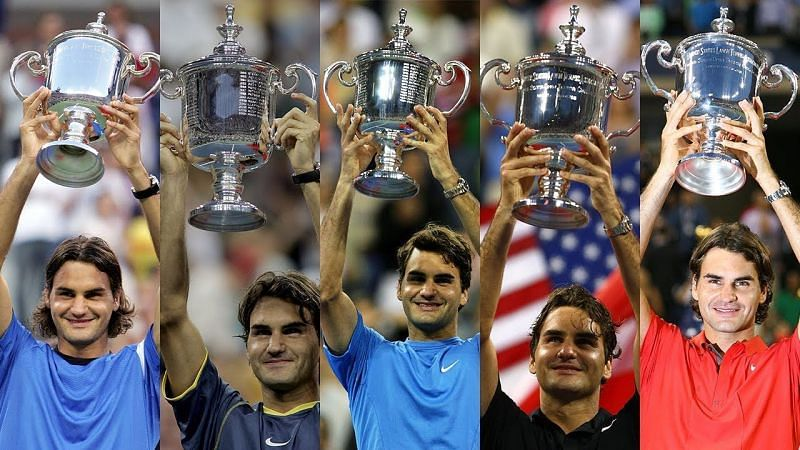 US Open: Reliving Roger Federer's 5 consecutive titles at Flushing Meadows