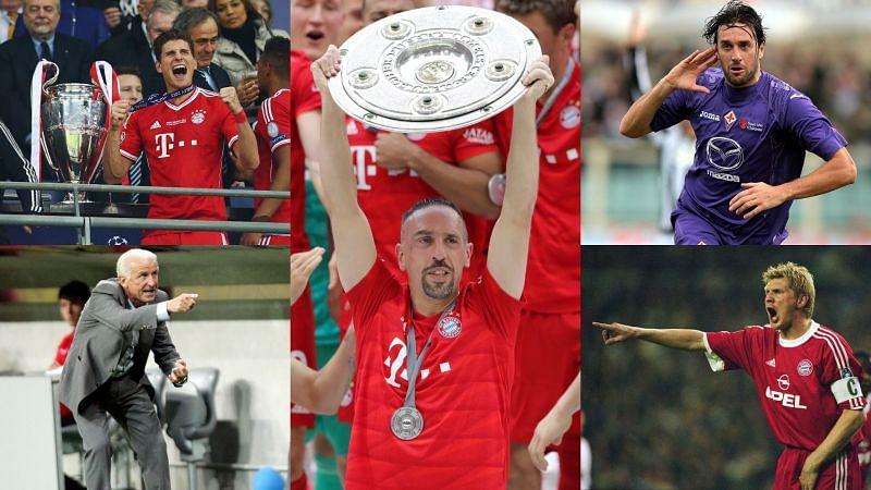 Ribery to Fiorentina: The five big names to represent Bayern and La Viola