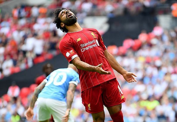 Salah was Liverpool's brightest attacking spark but crucially missed a handful of promising chances