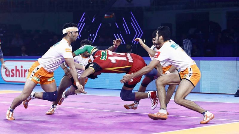 PKL 2019: Surjeet Singh inspires Puneri Paltan to 31-23 win over Bengaluru Bulls