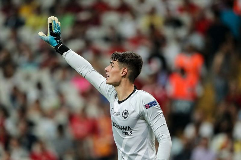 Kepa was impressive and forced into a string of important saves during a busy evening's work