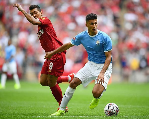 Rodri was imposing, composed in possession and unafraid of midfield battles against a determined side