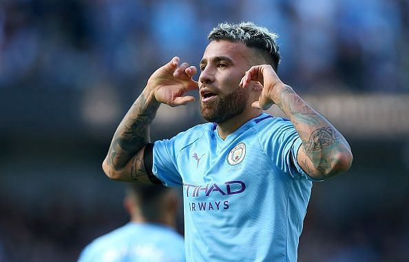 Despite an early scare, Otamendi surprisingly scored and created an assist as City cruised to victory
