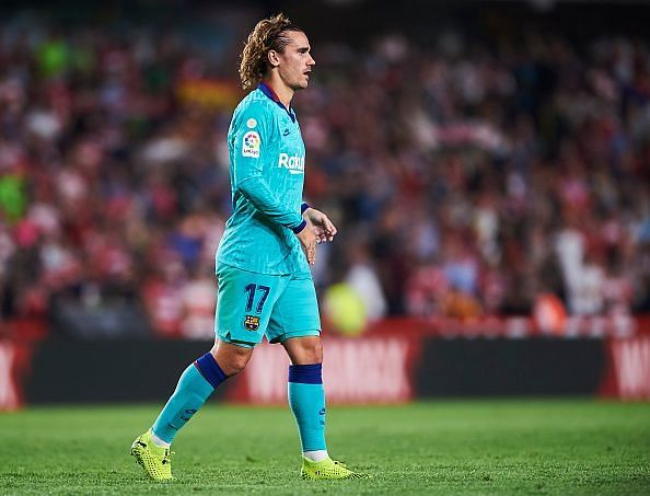 Griezmann endured another forgettable display, this time away at Granada where he was largely anonymous