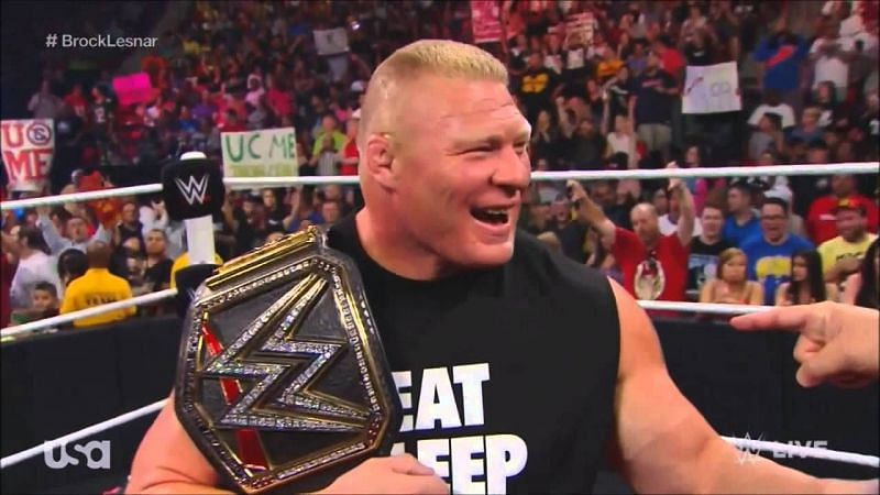 5 new challengers for Brock Lesnar and the WWE Championship