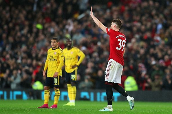 McTominay reserved one of his best performances against Arsenal, on an evening where his pedigree shone