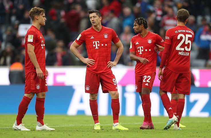 Lewandowski continued his excellent goalscoring form, though Bayern missed chances aplenty here