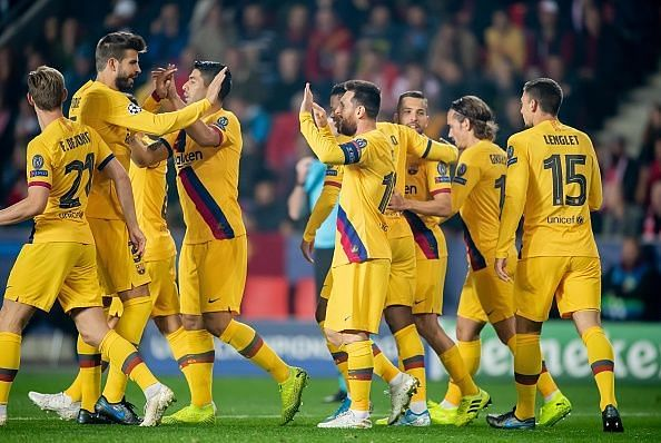 Slavia Prague 1-2 Barcelona: 3 Reasons why the Blaugrana won | Champions League 2019/20