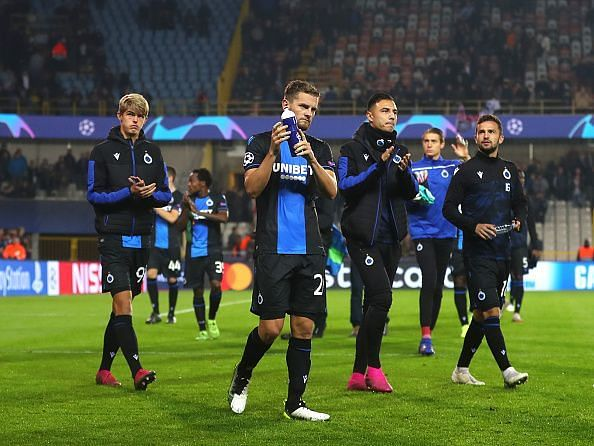 Club Brugge's 18-match unbeaten run was ended in emphatic fashion