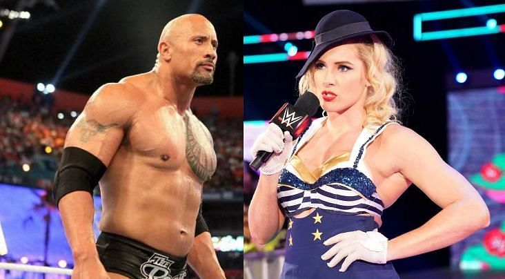 WWE News: The Rock reacts to Lacey Evans' jibe on Twitter