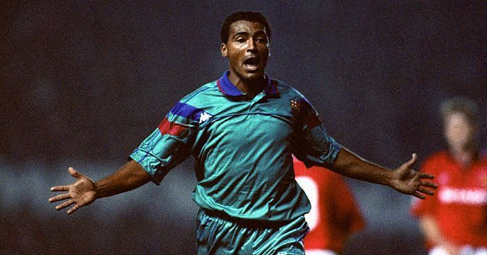 Romario is a legend at Barca