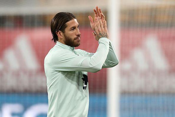 Ramos is a warrior during El-Classico games