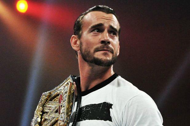 WWE Championship CM PUNK