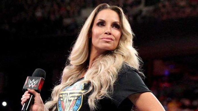 Trish Stratus takes the first spot on our list