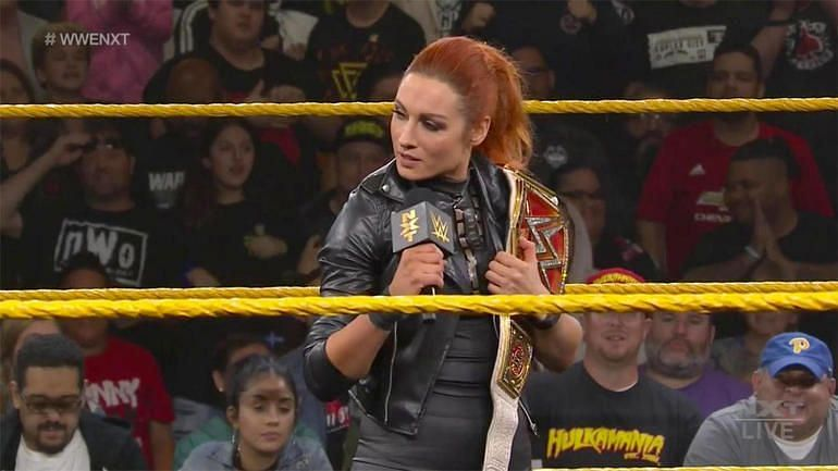 'The man' Becky Lynch continues to make waves at the top of women division