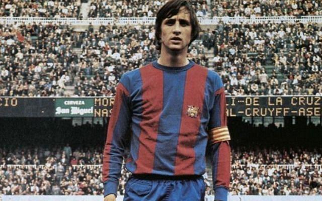 The legendary Cruyff