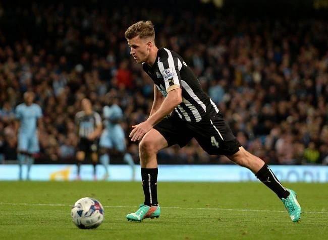 Ryan Taylor in action for Newcastle United