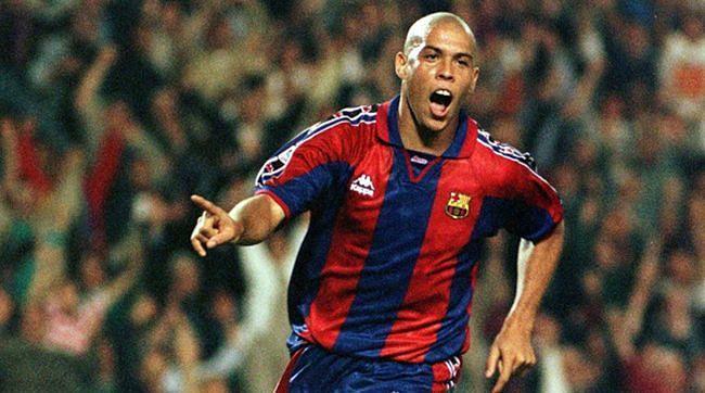 The striker spent just a season at Camp Nou