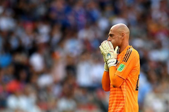 Caballero represented Argentina in the World Cup last year