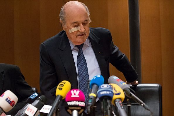 Football's governing body was charged for corruption