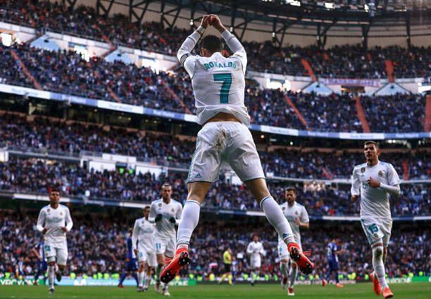 The Portuguese has 18 El-Classico goals to his name