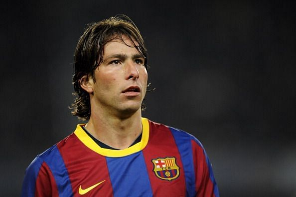 Maxwell made 57 appearances for the Blaugrana