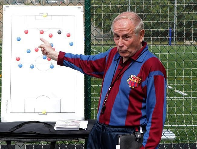 Ruiz was barca coach in 1976