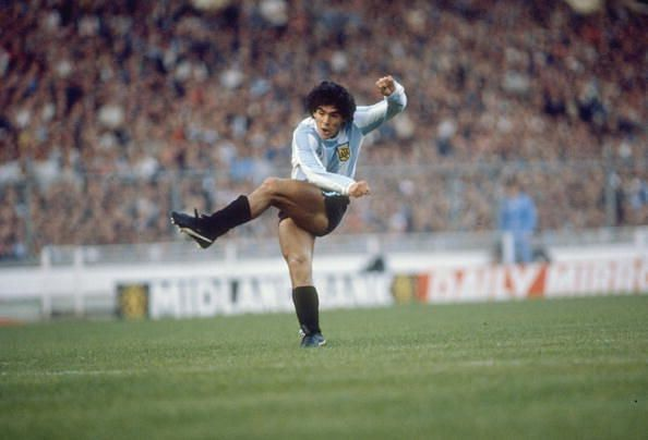 This ended Maradona's career prematurely