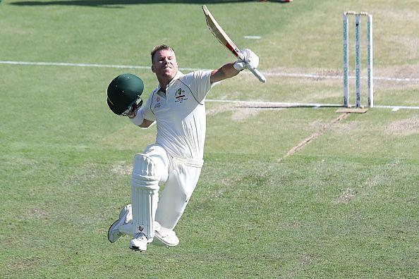 AUS vs PAK, पहला टेस्ट: दूसरे दिन ऑस्ट्रेलिया का स्कोर 312/1,़डेविड वॉर्नर की जबरदस्त पारी