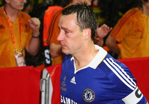 Terry in tears after missing from the spot