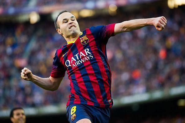 Iniesta was a joy to watch in the El-Classico