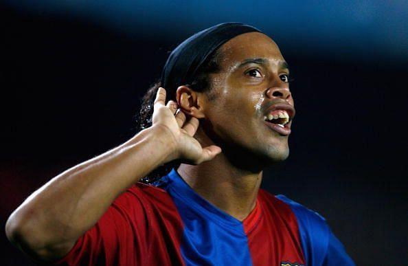 The Brazilian got a standing ovation at Santiago Bernabeu