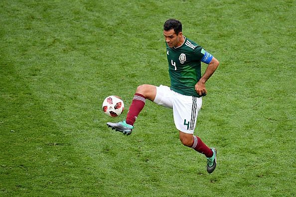 Marquez played in the World Cup last year