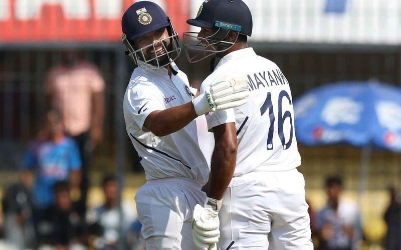 IND vs BAN, पहला टेस्ट: मयंक अग्रवाल शतक के करीब,दूसरे दिन लंच के समय भारत का स्कोर - 188/3
