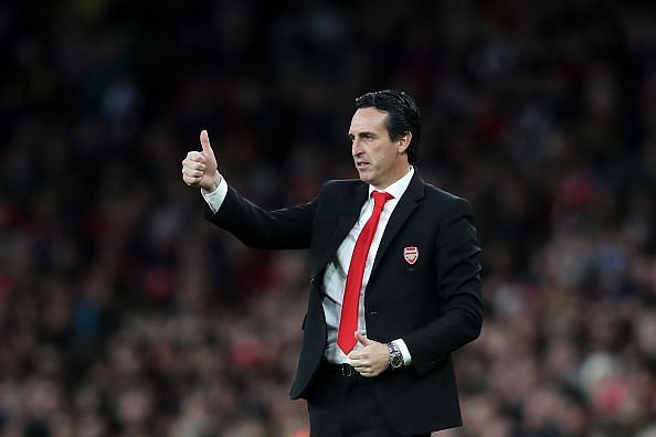 Arsenal fans haven't given Unai's reign a thumbs up