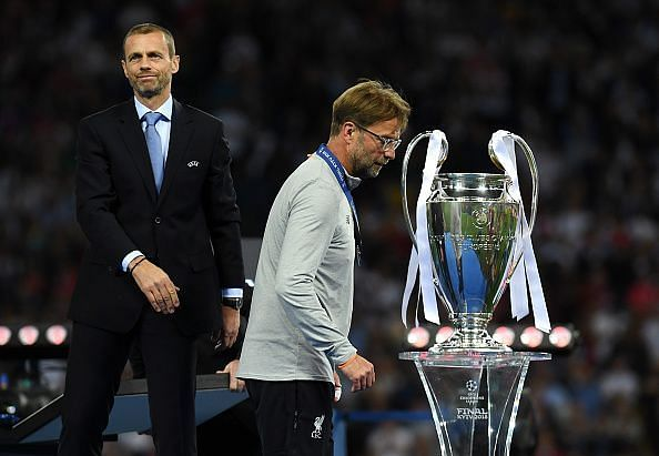 Klopp lost two Champions League finals before winning one
