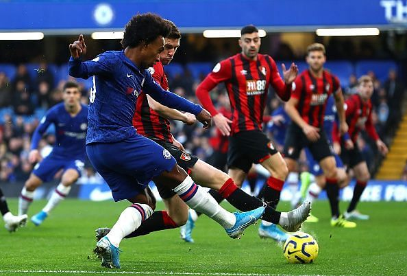 Despite some promise, Willian and the supporting cast struggled to create quality chances for Abraham