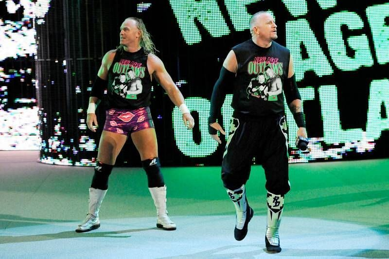 They later joined D-Generation X